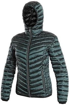 Canis Dámska zimná prešívaná bunda OCEANSIDE - Tmavě zelená | XXL