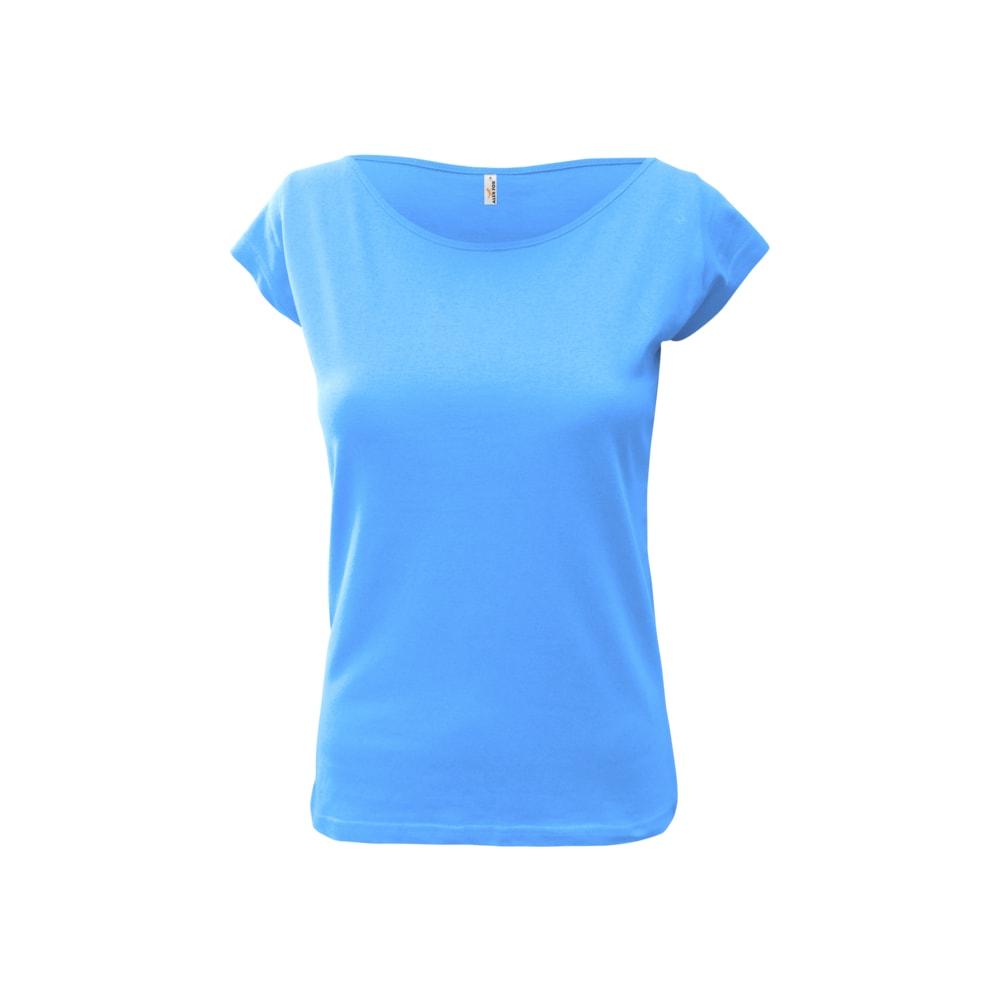Alex Fox Dámske tričko Elegance - Světle modrá | L
