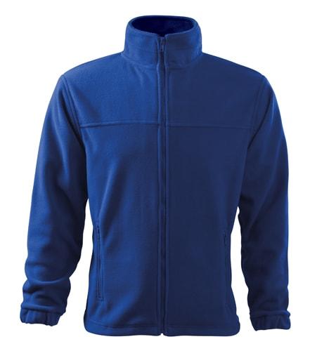 Adler Pánska fleecová mikina Jacket - Královská modrá | L