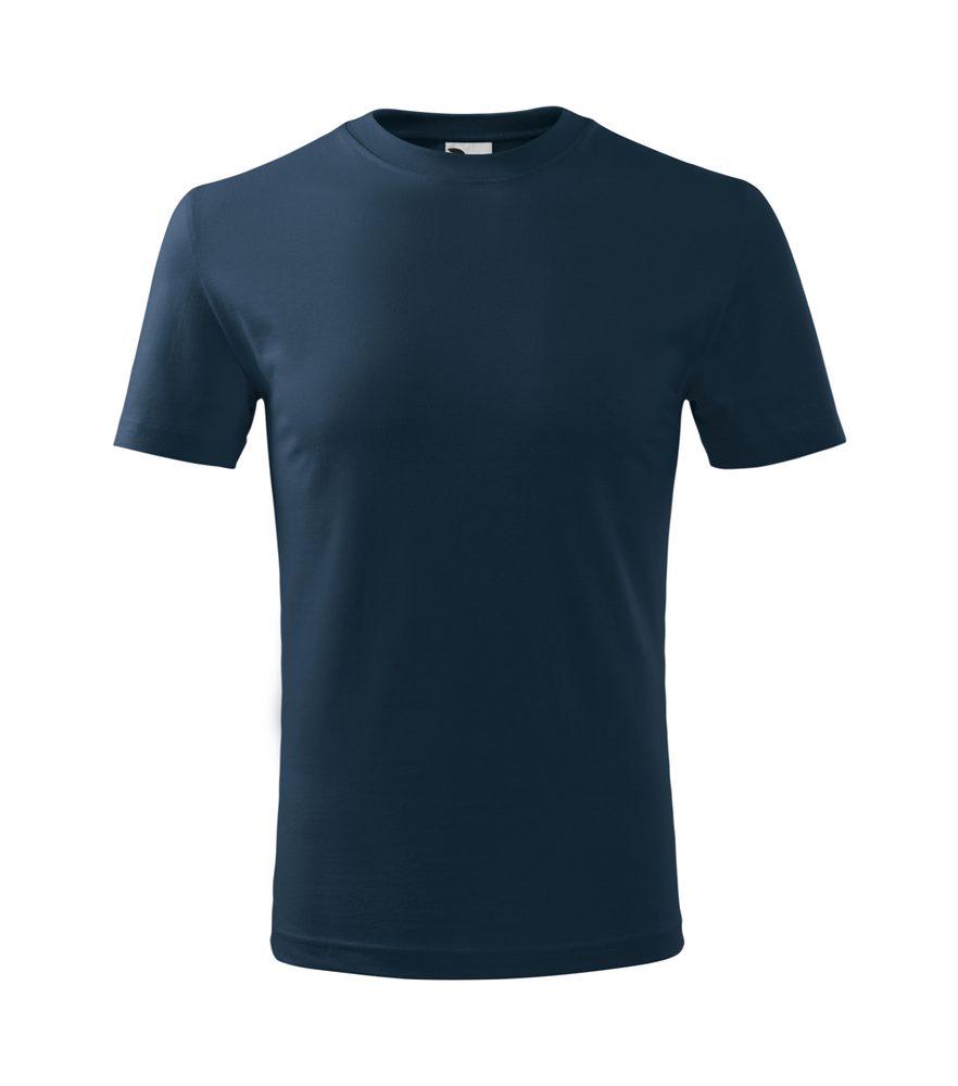 Levně Adler Dětské tričko Classic New - Námořní modrá