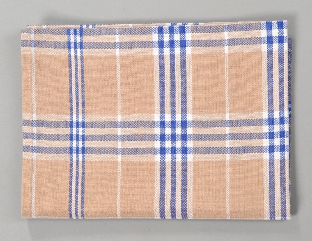 Dobrý Textil Kuchyňská bavlněná utěrka TINA - Modrá