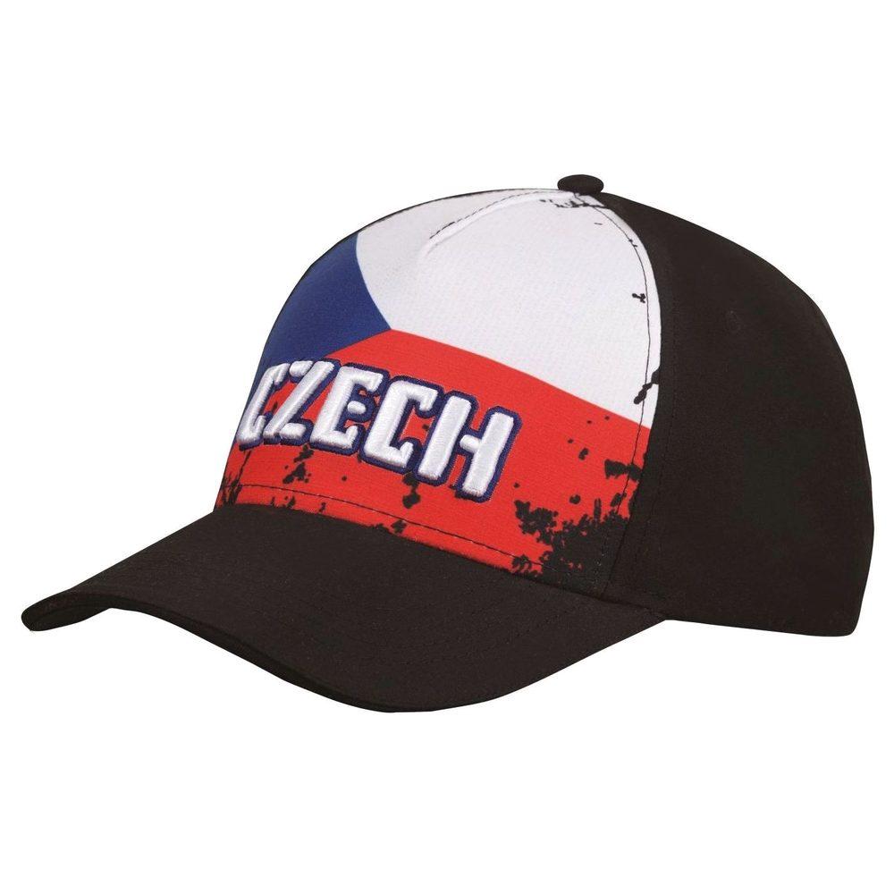 CoFEE Fan kšiltovka Czech flag