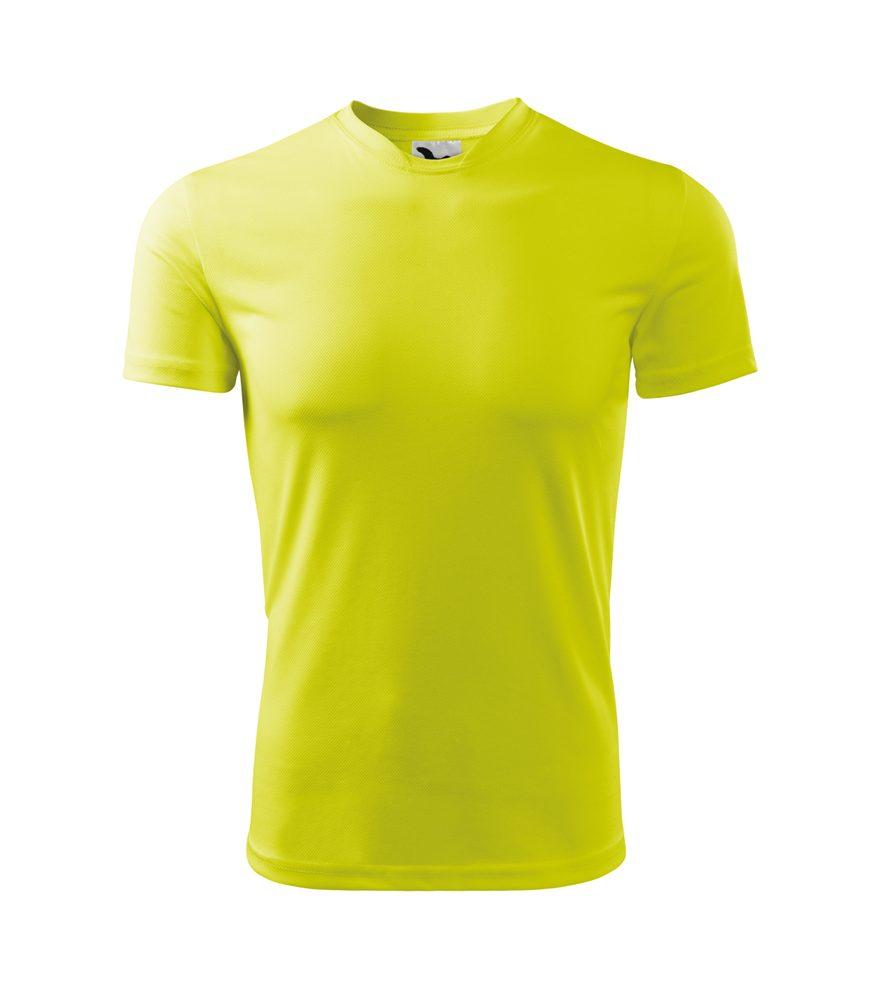 Adler Detské tričko Fantasy - Neonově žlutá | 158 cm (12 let)