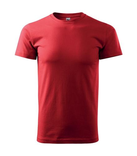 Adler Pánske tričko Basic - Červená | XXXL