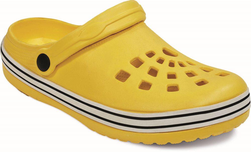 Cerva Dětské gumové nazouváky NIGU KIDS - Žlutá | 27