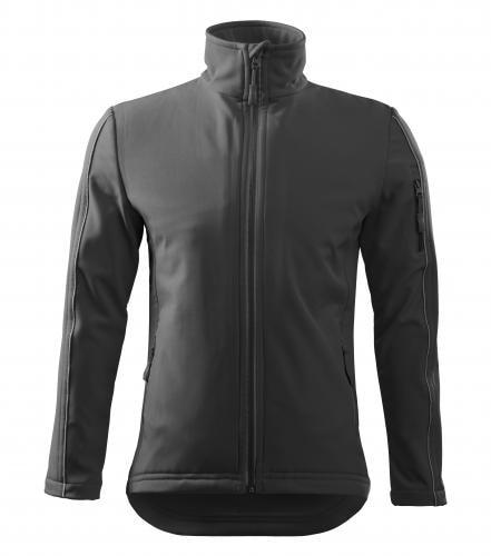 Adler Pánska bunda Softshell Jacket - Ocelově šedá | L