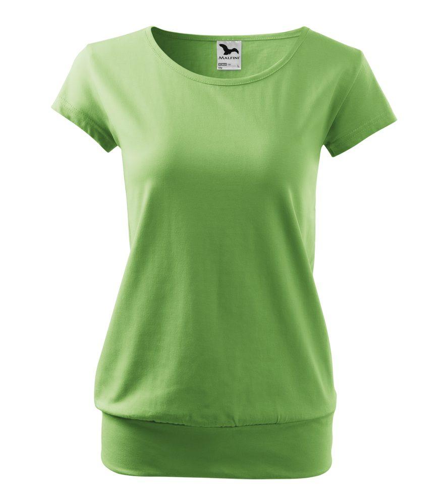 Adler Dámske tričko City - Trávově zelená   XXL