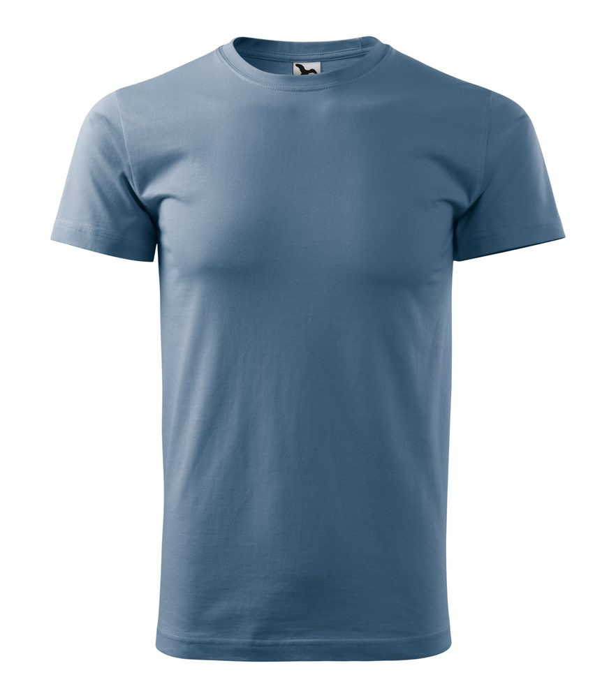 Adler Pánske tričko Basic - Denim | XXXL