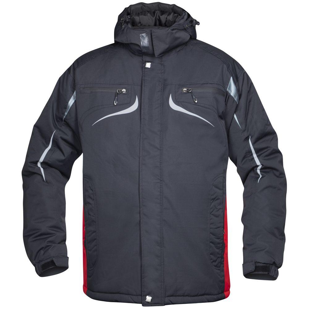 Ardon Pánska zimná bunda Philip - Černá / červená | XXXL