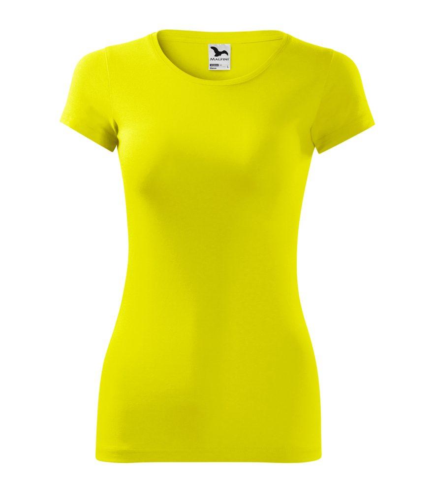 Adler Dámske tričko Glance - Citrónová | S