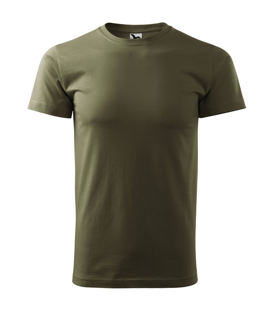 Adler Pánske tričko Basic - Military | M
