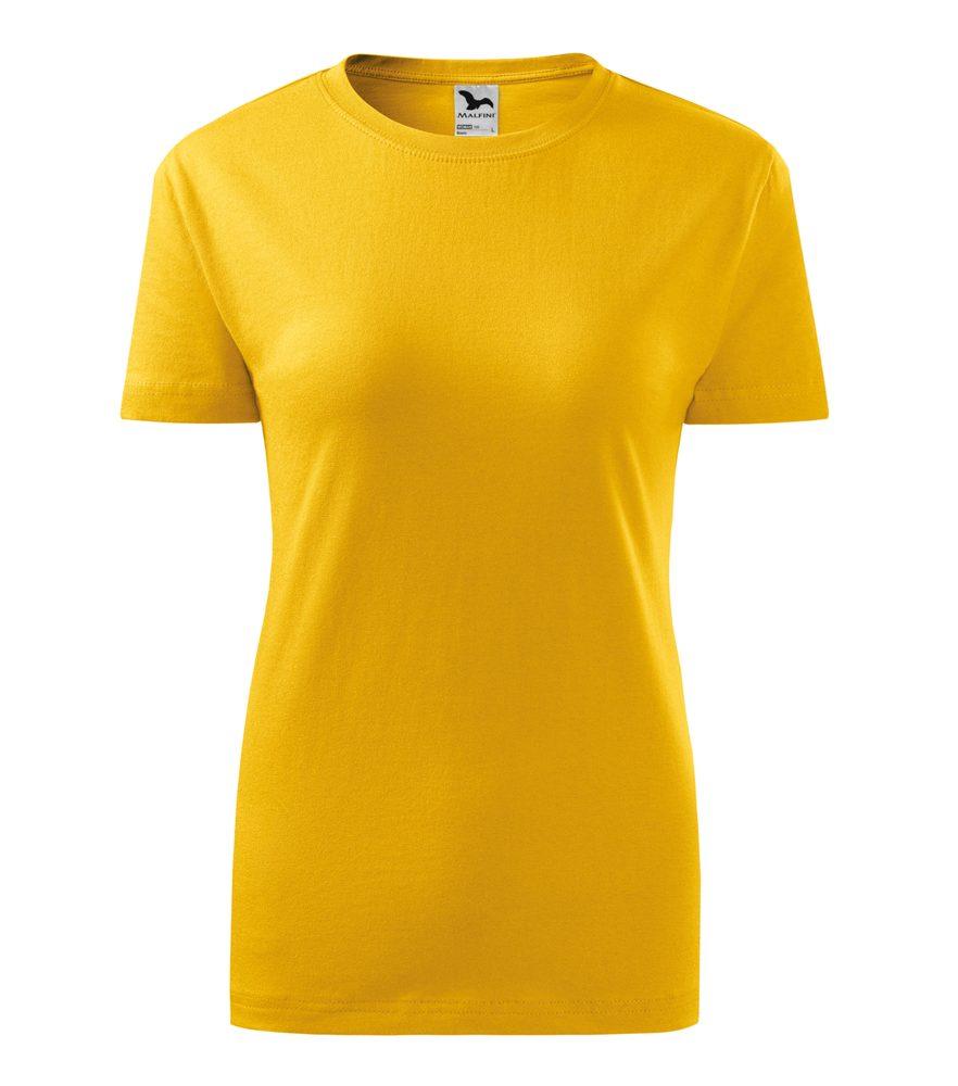 Adler Dámske tričko Classic New - Žlutá | XXL