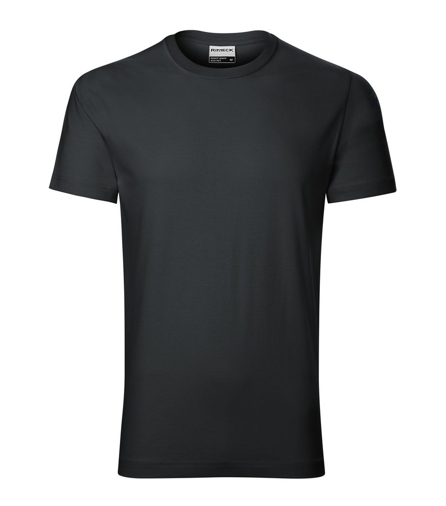 Adler Pánske tričko Resist heavy - Ebony gray | XL