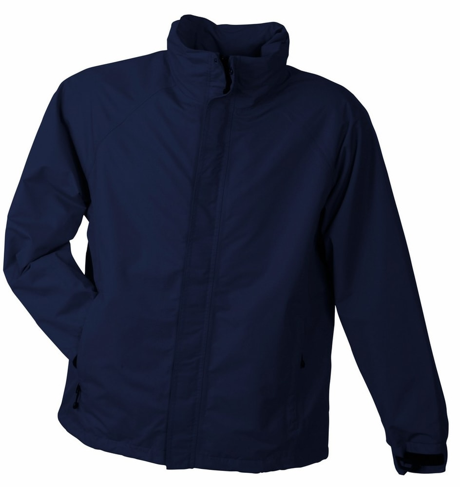 James & Nicholson Pánska outdoorová bunda JN1010 - Tmavě modrá | S