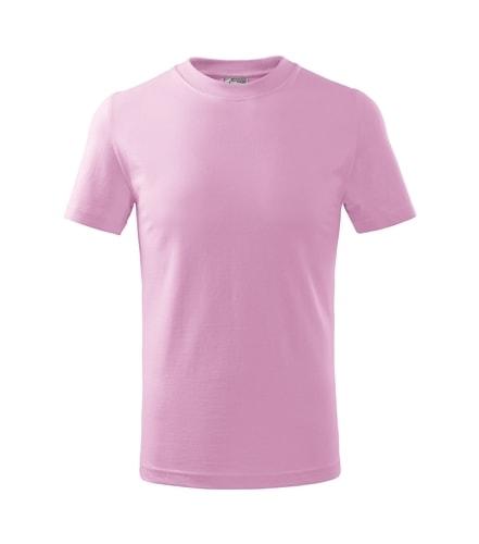 Adler Detské tričko Basic - Růžová | 146 cm (10 let)