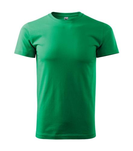 Adler Pánske tričko Basic - Středně zelená | M