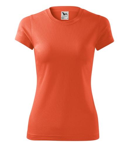 Adler Dámske tričko Fantasy - Neonově oranžová | S