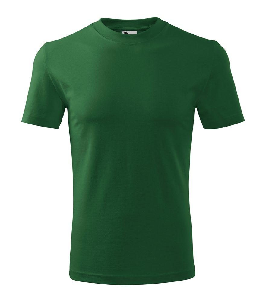 Adler Tričko Classic - Lahvově zelená | XXL