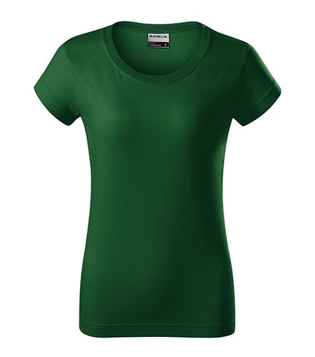 Adler Dámske tričko Resist heavy - Lahvově zelená | XXL