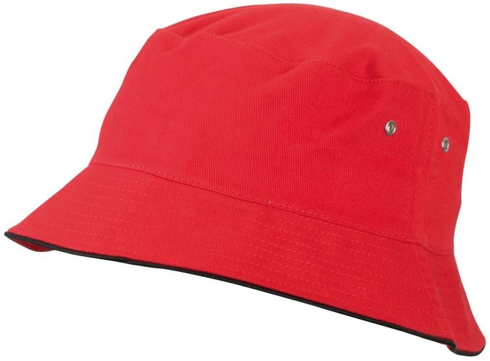 Dětský klobouček MB013 - Červená / černá | 54 cm