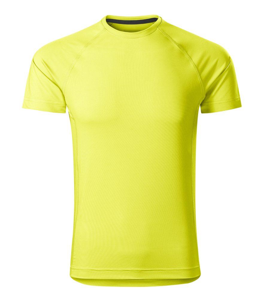Adler (MALFINI) Pánske tričko Destiny - Neonově žlutá | L