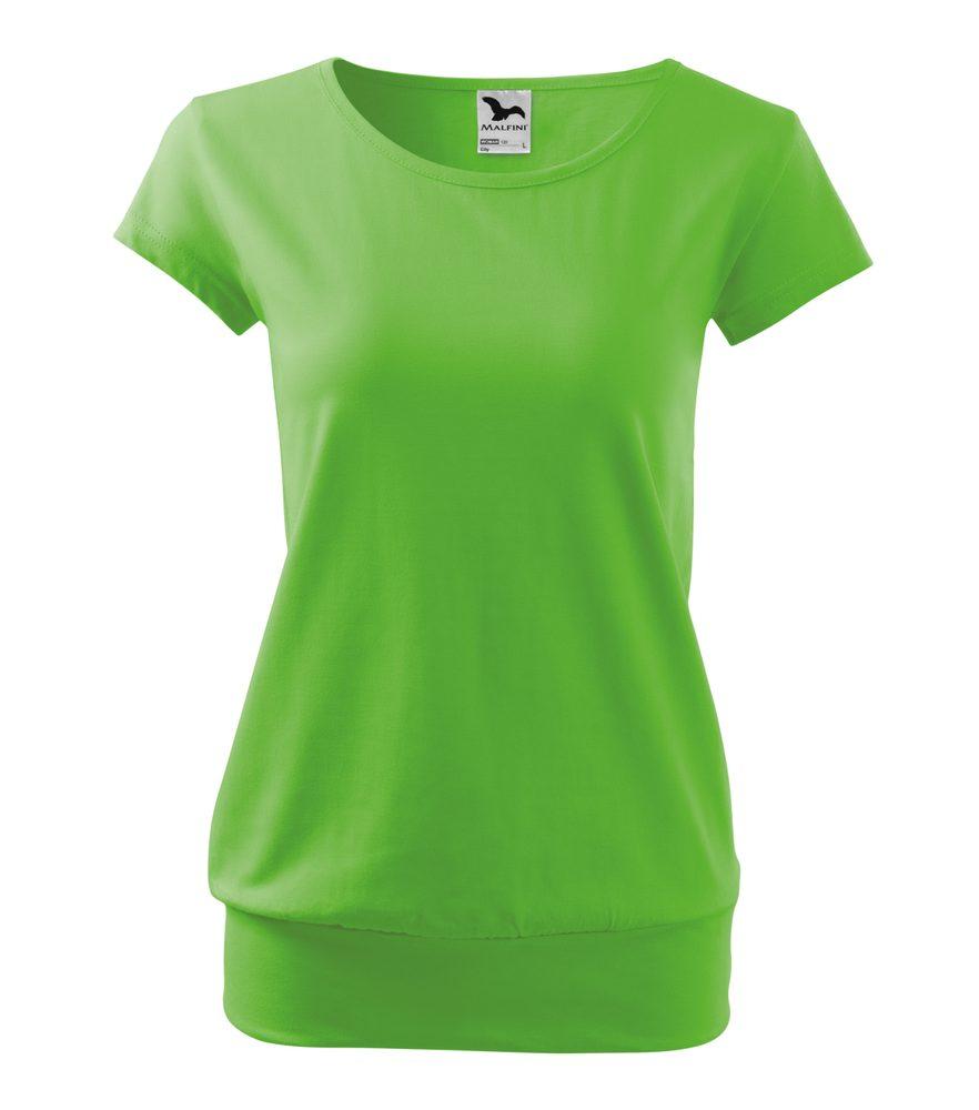 Adler Dámske tričko City - Apple green | XXL