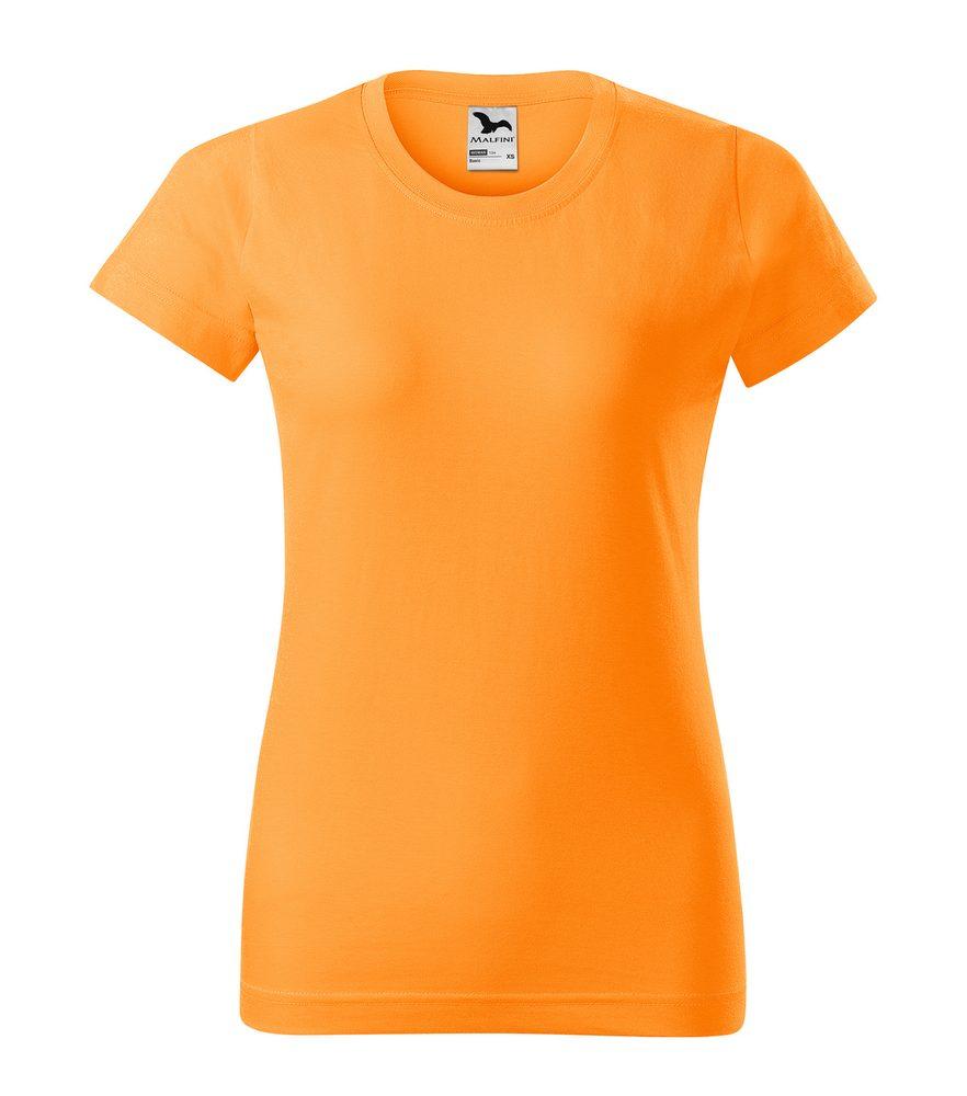 Adler Dámske tričko Basic - Mandarinkově oranžová | M