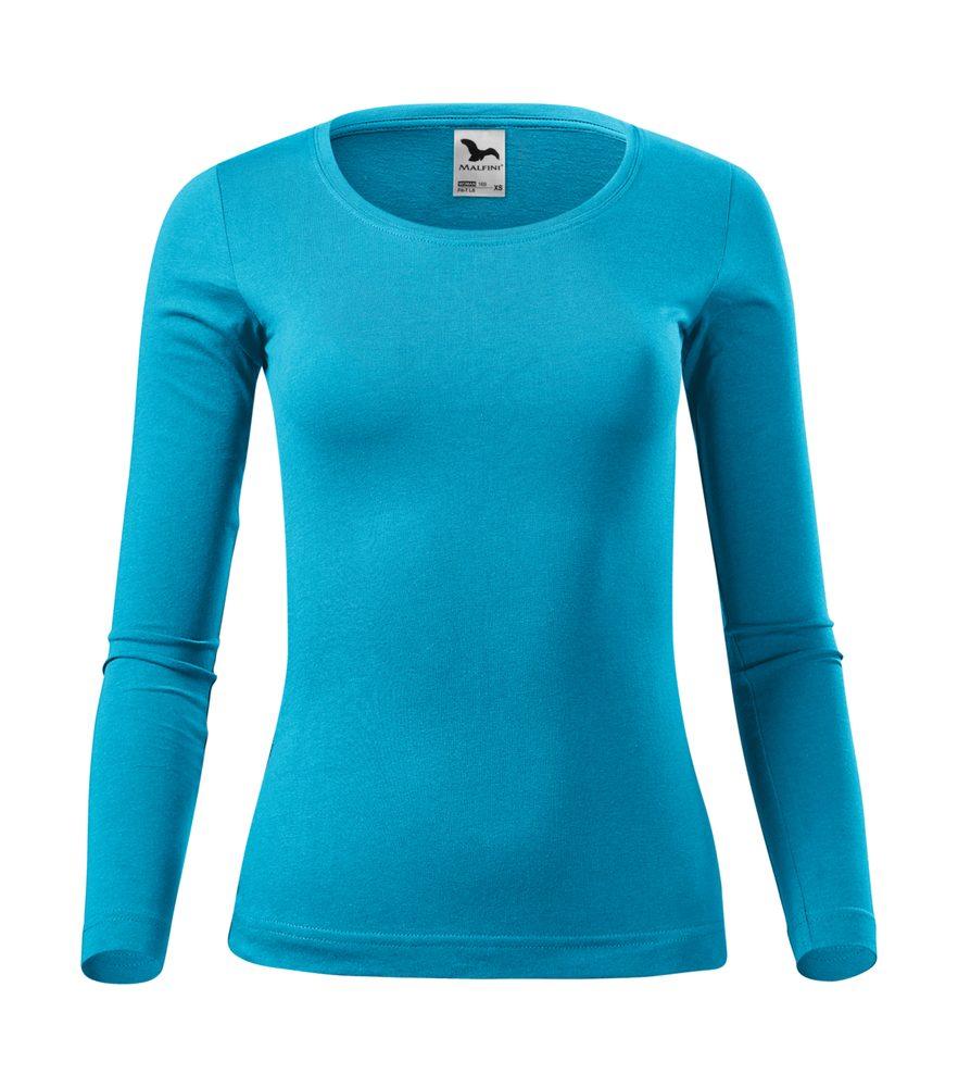 Adler Dámske tričko s dlhým rukávom Fit-T Long Sleeve - Tyrkysová | M