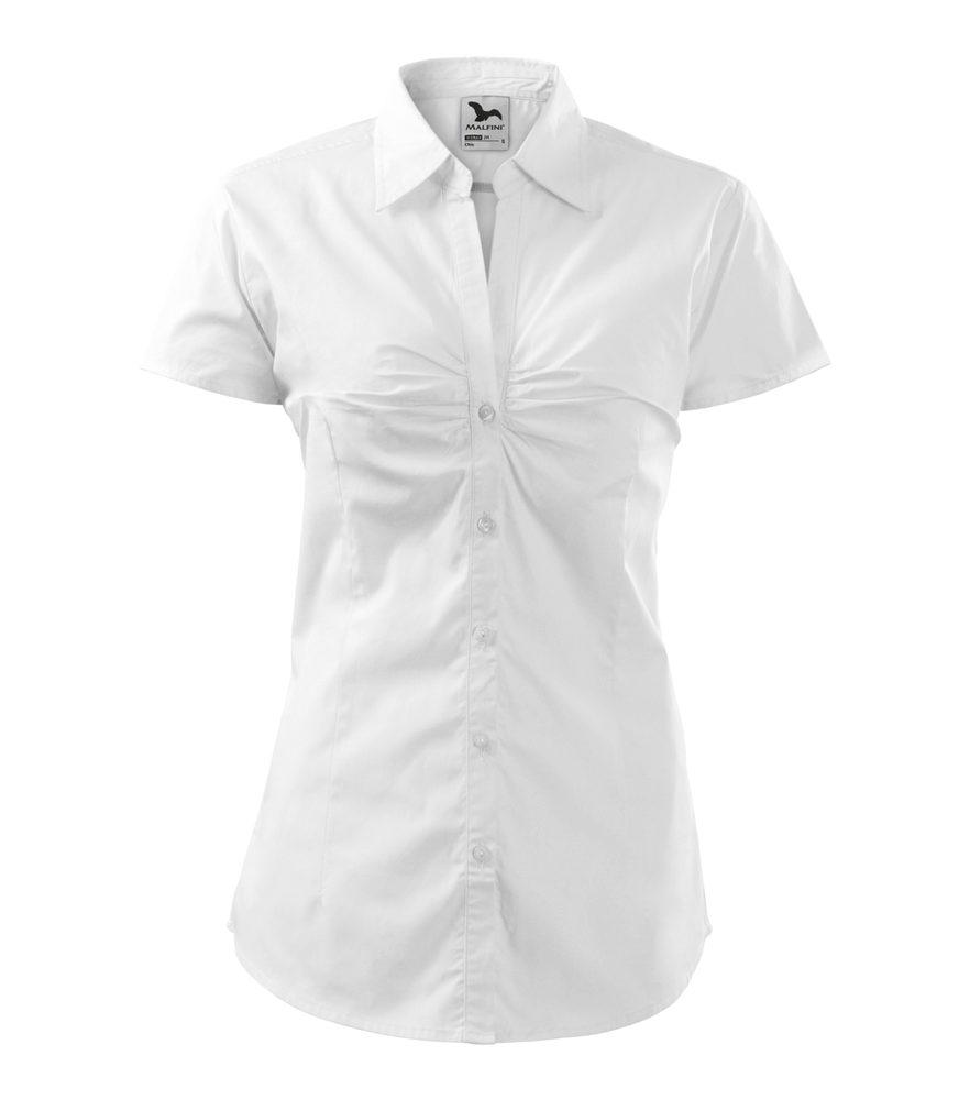 Adler (MALFINI) Dámska košeľa s krátkym rukávom Chic - Bílá | XS