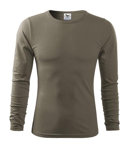 Pánské tričko s dlouhým rukávem Fit-T Long Sleeve - Army | S
