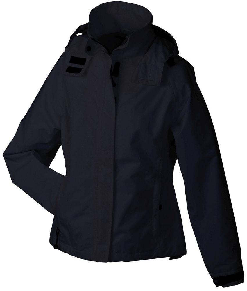 James & Nicholson Dámská outdoorová bunda JN1011 - Černá | M