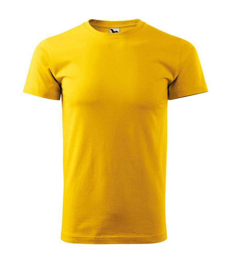 Adler Pánske tričko Basic - Žlutá | S