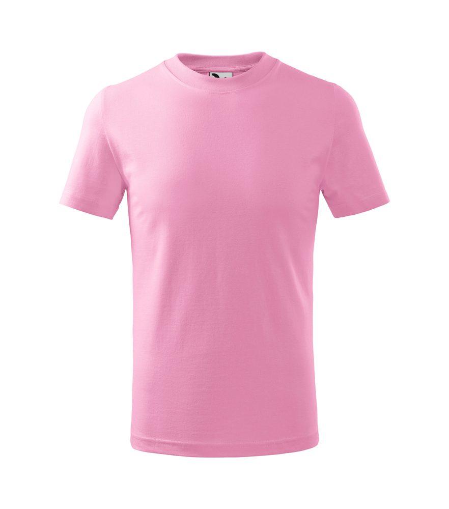 Adler (MALFINI) Detské tričko Basic - Růžová | 146 cm (10 let)