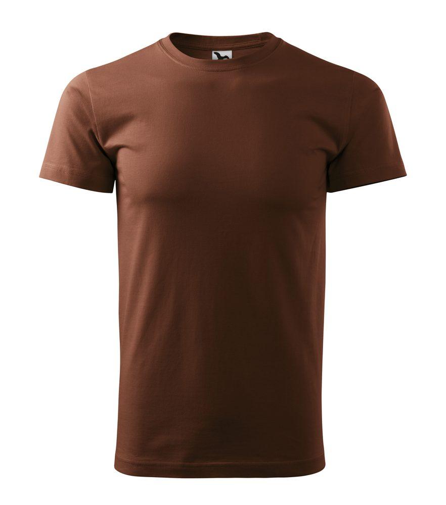 Adler Pánske tričko Basic - Čokoládová | M