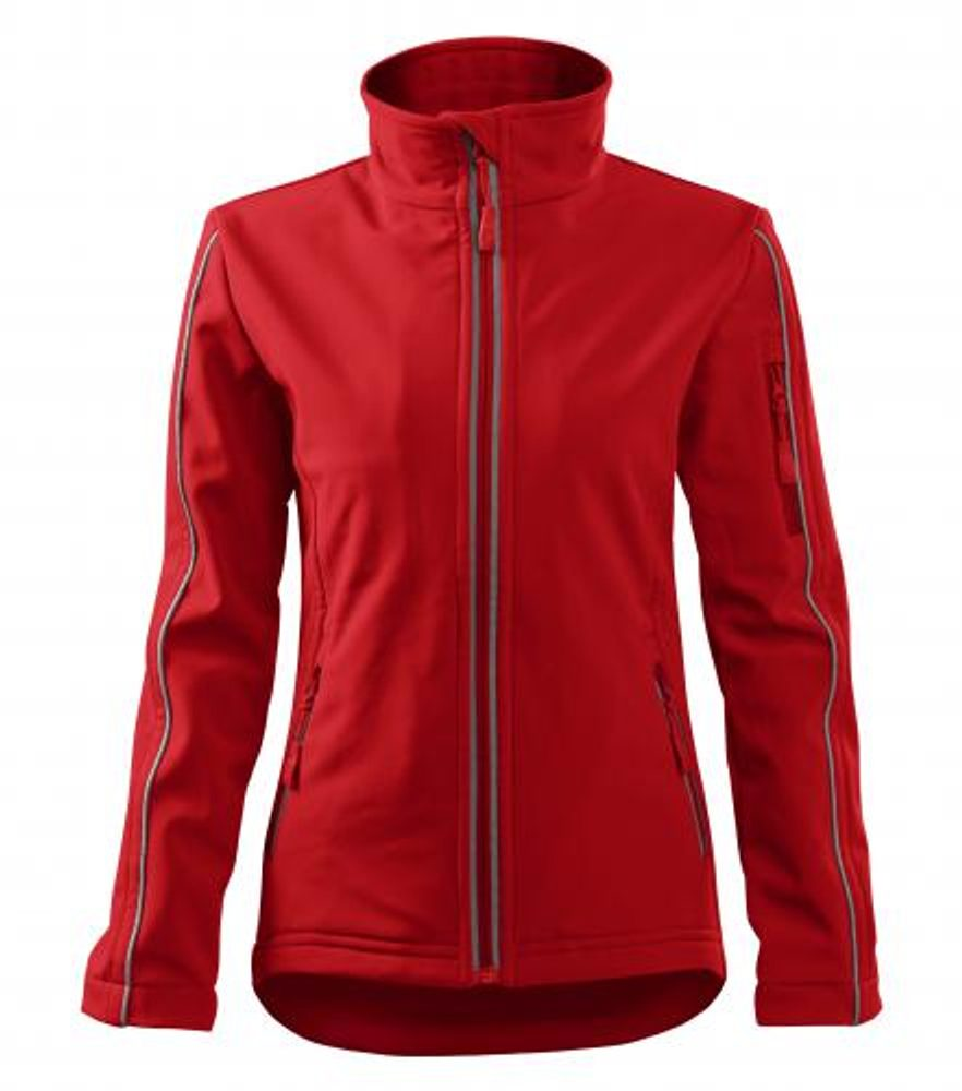 Adler Dámska bunda Softshell Jacket - Červená | S