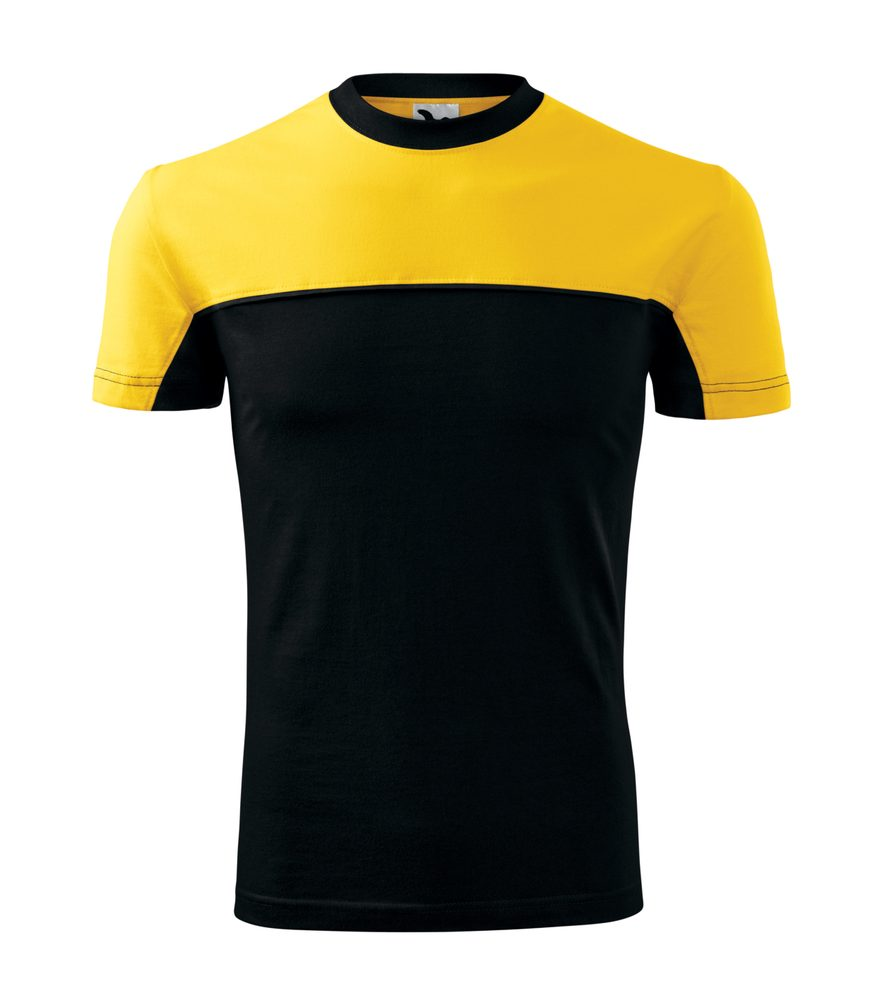Adler (MALFINI) Tričko Colormix - Žlutá | M