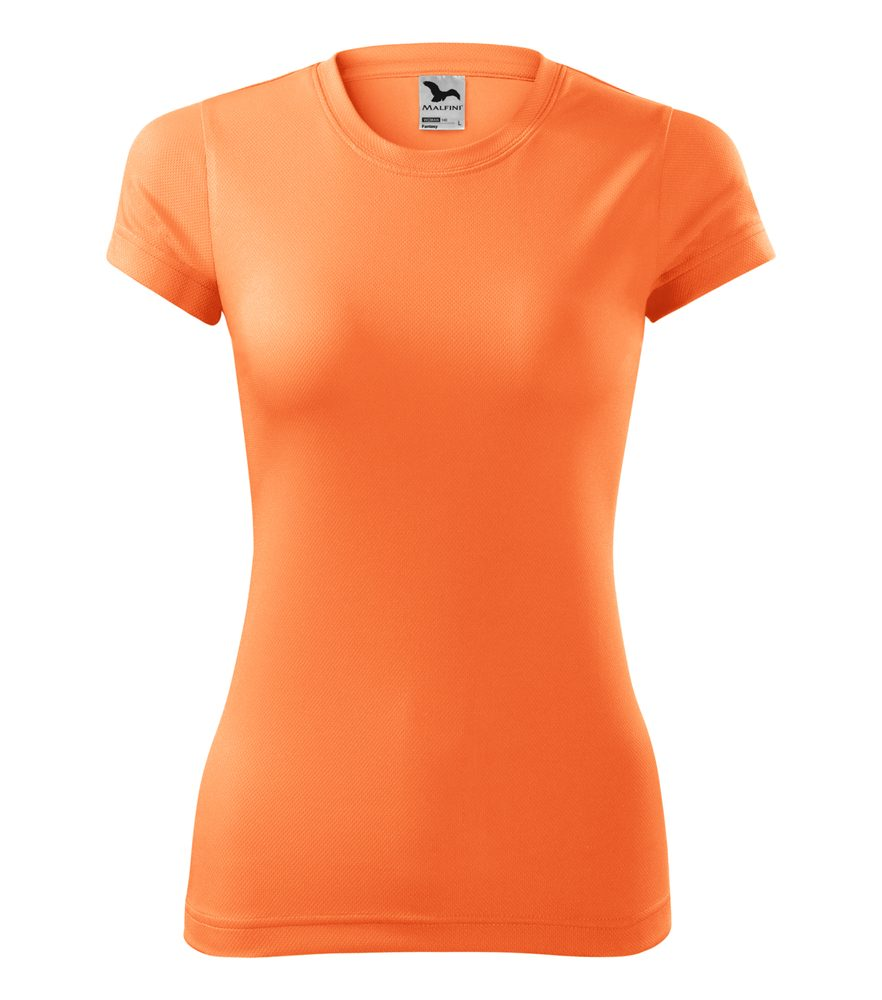 Adler Dámske tričko Fantasy - Neonově mandarinková | L