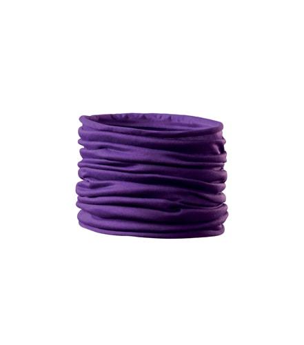 Adler Multifunkční šátek Twister - Fialová | uni