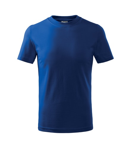 Adler Detské tričko Basic - Královská modrá | 110 cm (4 roky)