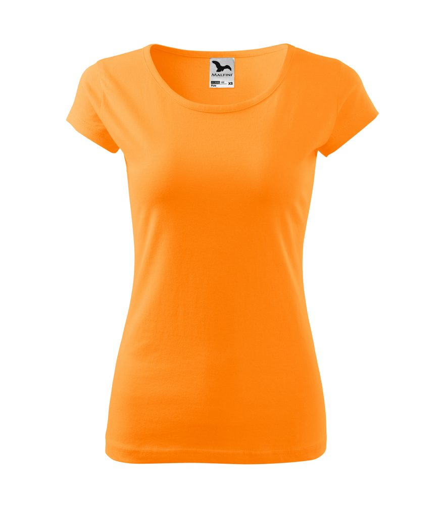 Adler Dámske tričko Pure - Mandarinkově oranžová | M
