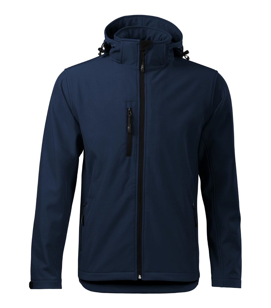 Pánská softshellová bunda Performance - Námořní modrá | M