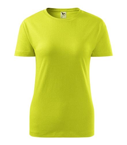 Adler Dámske tričko Basic - Limetková | L