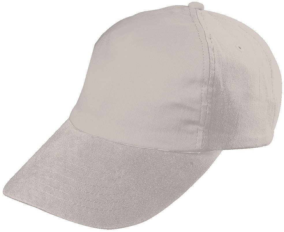 Dětská 5P kšiltovka MB7010 - Světle šedá