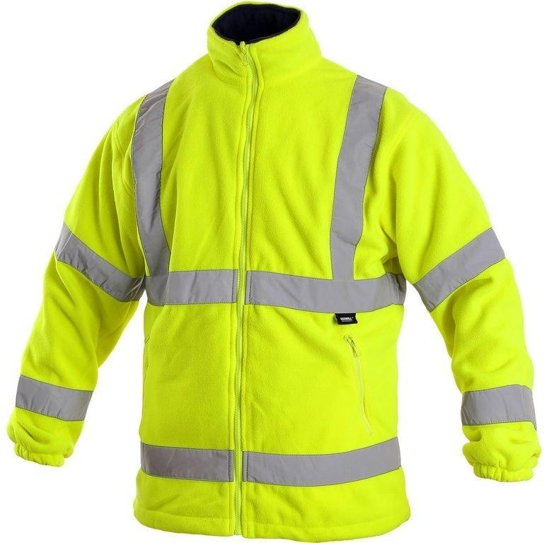 Canis Pánska výstražná bunda PRESTON - Žlutá | XXL