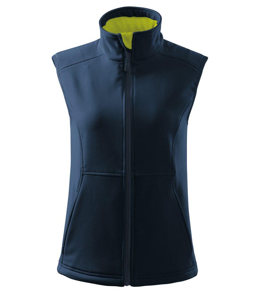Adler Dámska softshellová vesta Vision - Námořní modrá | M