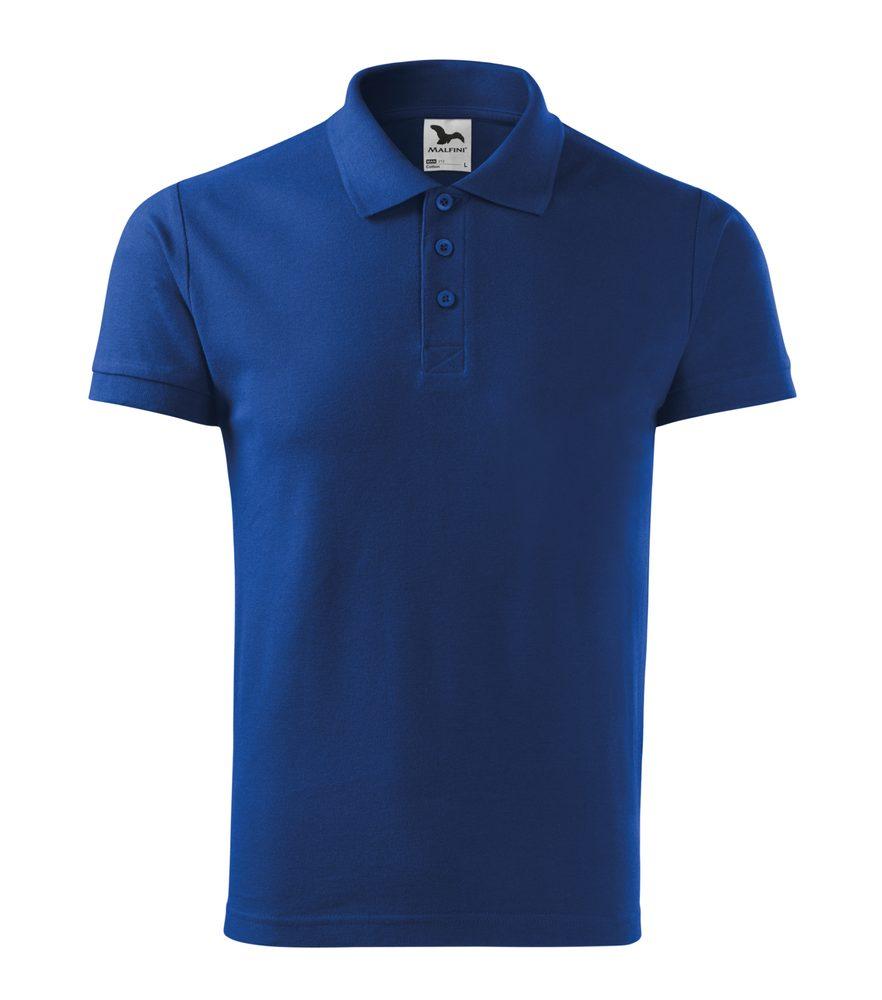 Adler (MALFINI) Pánska polokošeľa Cotton - Královská modrá   M