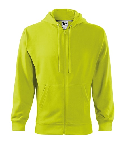 Adler Pánska mikina Trendy Zipper - Limetková   L