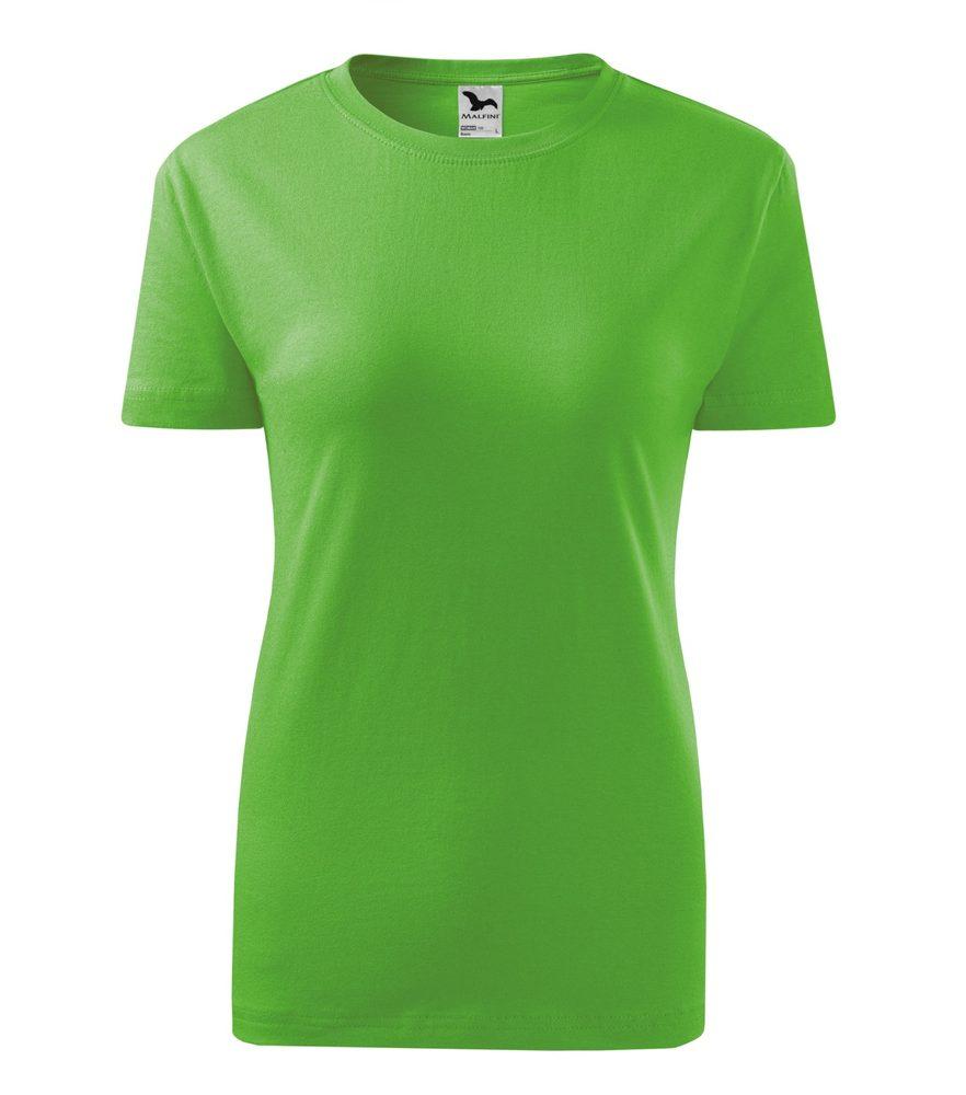 Adler Dámske tričko Classic New - Apple green | M