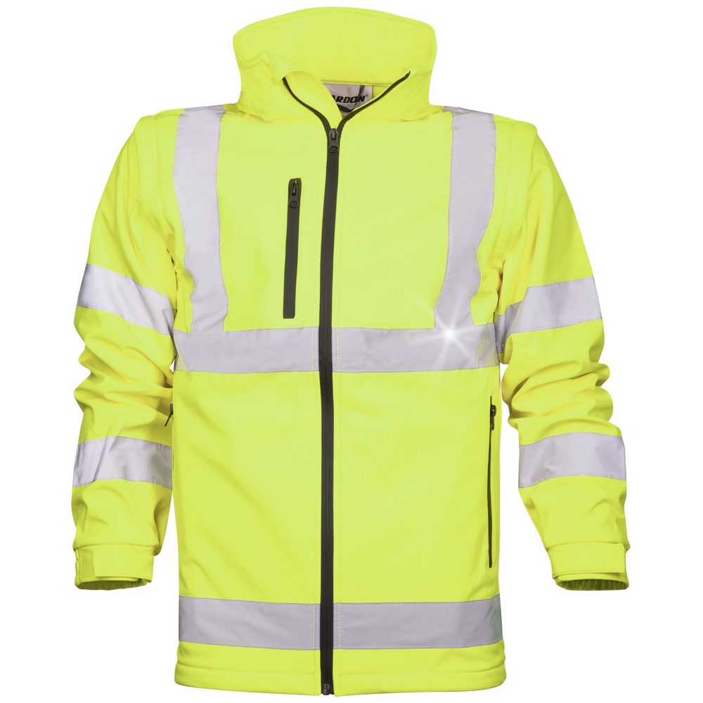 Ardon Reflexná softshellová bunda - Žlutá | XL