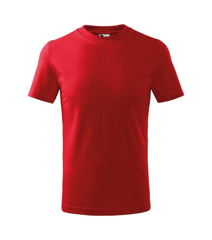 Adler Detské tričko Basic - Červená | 122 cm (6 let)